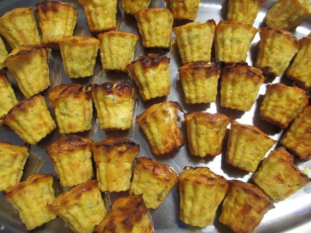 cake apero sweet potatoes