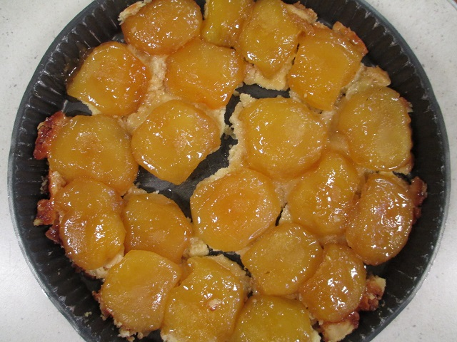 Tarte Tatin french apple pie