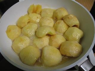 pommes caramelisees